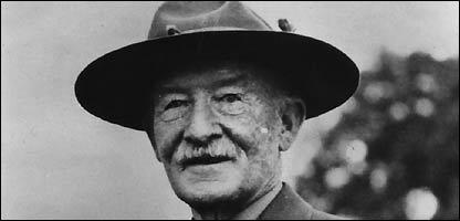 Baden Powell, fondateur des scouts